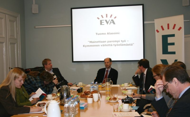 EVA Raportti: Mainettaan parempi työ