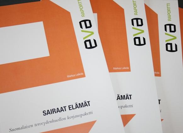 EVA Raportti: Sairaat elämät -Suomalaisen terveydenhuollon korjauspaketti