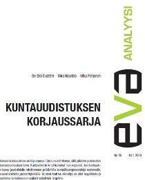 EVA Analyysi: Kuntauudistuksen korjaussarja