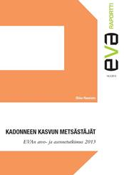 EVA Attitude and Value Survey 2013:  Finns' Opinions on the EU remain positive