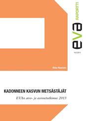 EVA Attitude and Value Survey 2013:  Finns' Opinions on the EU remain positive