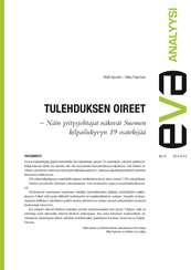 EVA Analyysi: Tulehduksen oireet - Näin yritysjohtajat näkevät Suomen kilpailukyvyn 19 osatekijää. Elinkeinoelämä, EVA, Elinkeinoelämän Valtuuskunta, talous, politiikka, talouspolitiikka, kilpailukyky