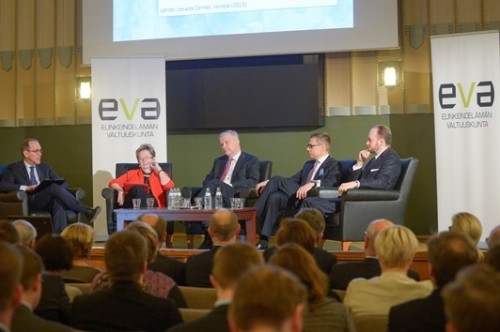 Evan Venäjä seminaari, Helsingissä 11. huhtikuuta 2014.