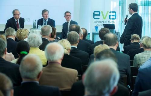 EVA Analyysin Hallitus tarvitsee kovan ytimen julkaisutilaisuus