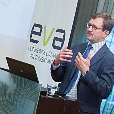 Vihriälä: EMU saknar en starkare marknadsprincip, inte en fiskalunion