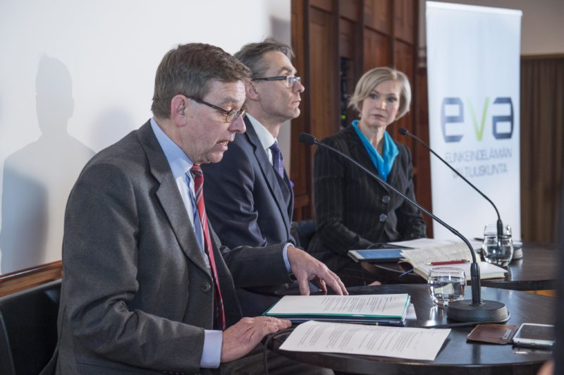 EVA FORUM pui sotea: valinnanvapaus parantaa palveluita ja synnyttää uusia yrityksiä