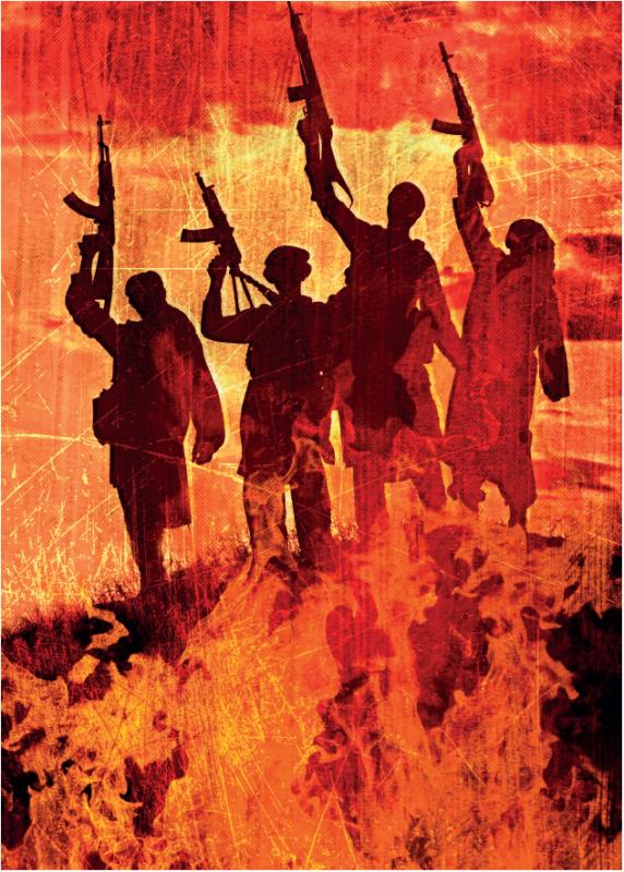Terrorismi ja sotilaalliset uhat ovat nousseet kansan todellisiksi huoliksi