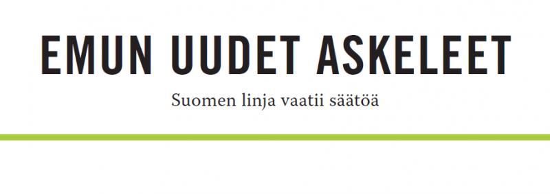 EVAn Vihriälä: Suomen EMU-linja vaatii säätöä
