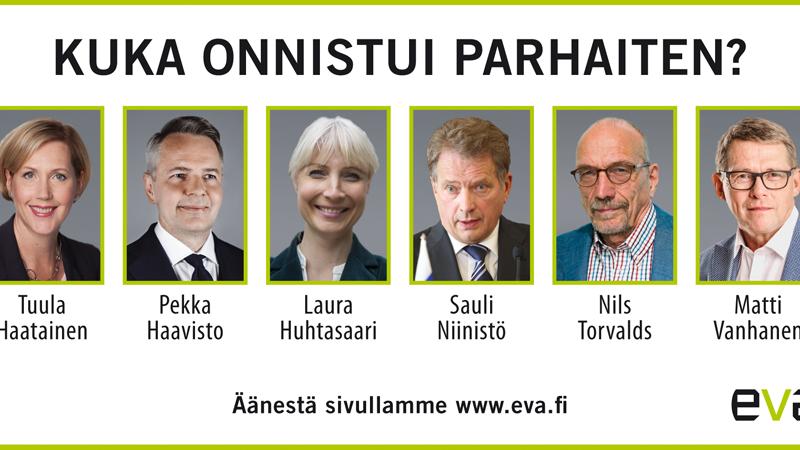 Äänestys: Kuka onnistui EVAn Presidenttiforumissa?