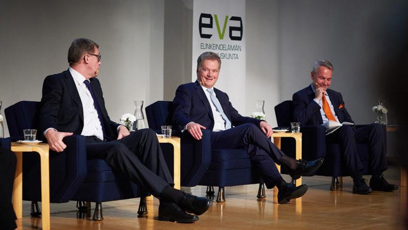 Kuvia ja tunnelmia EVAn Presidenttiforumista