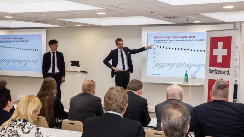 Sveitsin opit – kilpailu ytimessä