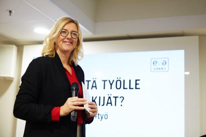 EVA Virkku: Miksi työ ja tekijä eivät kohtaa?