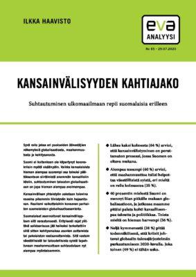 Download: Kansainvälisyyden kahtiajako -EVA Analyysi