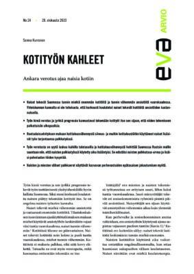 Download: Kotityön kahleet -EVA Arvio