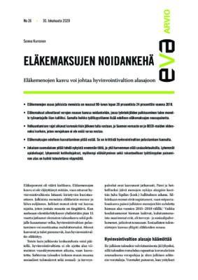 Download: Eläkemaksujen noidankehä -EVA Arvio